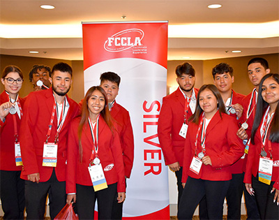 Tomcats awarded silver at national FCCLA competition
