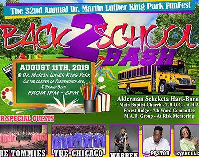 City Alderman to host Back-to-School Bash on August 11